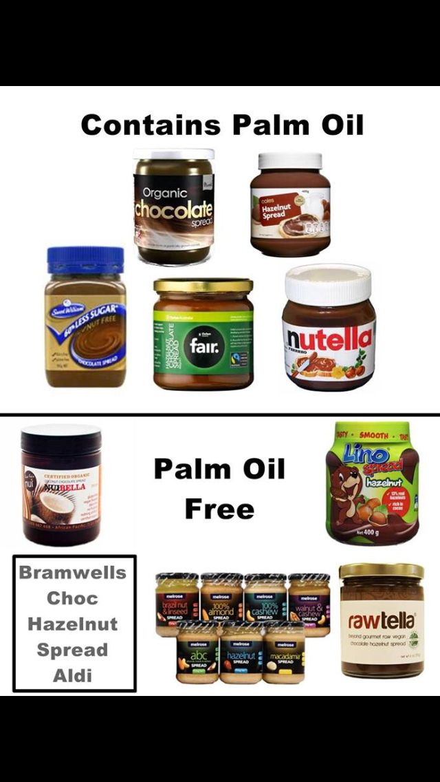 palm oil food chocolate spreads nutella alternative bars cream palms
