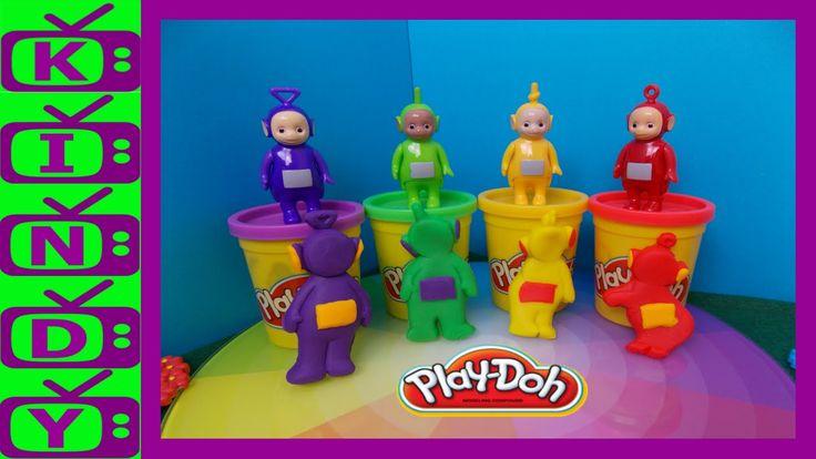 Teletubbies Play-Doh. Teletubbies Toys. Teletubbies Play Dough Set.