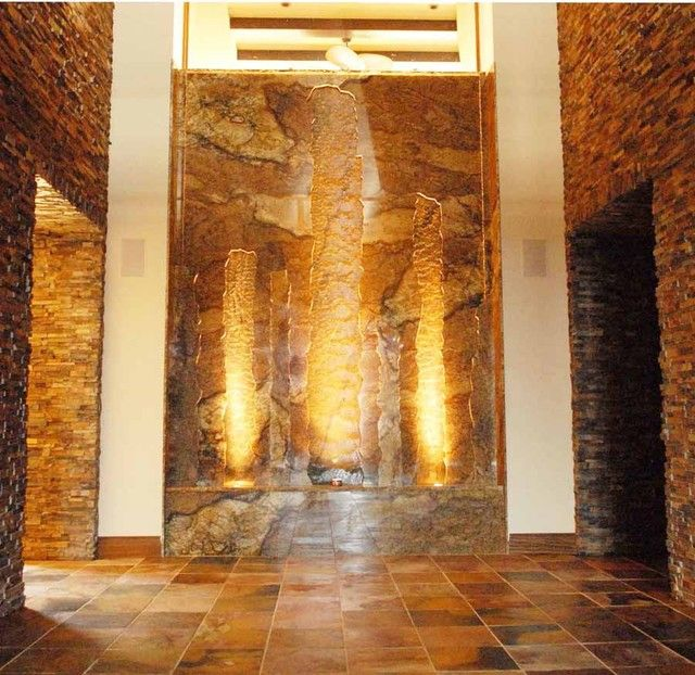17 best images about indoor waterfalls design on pinterest for Waterfall tile design