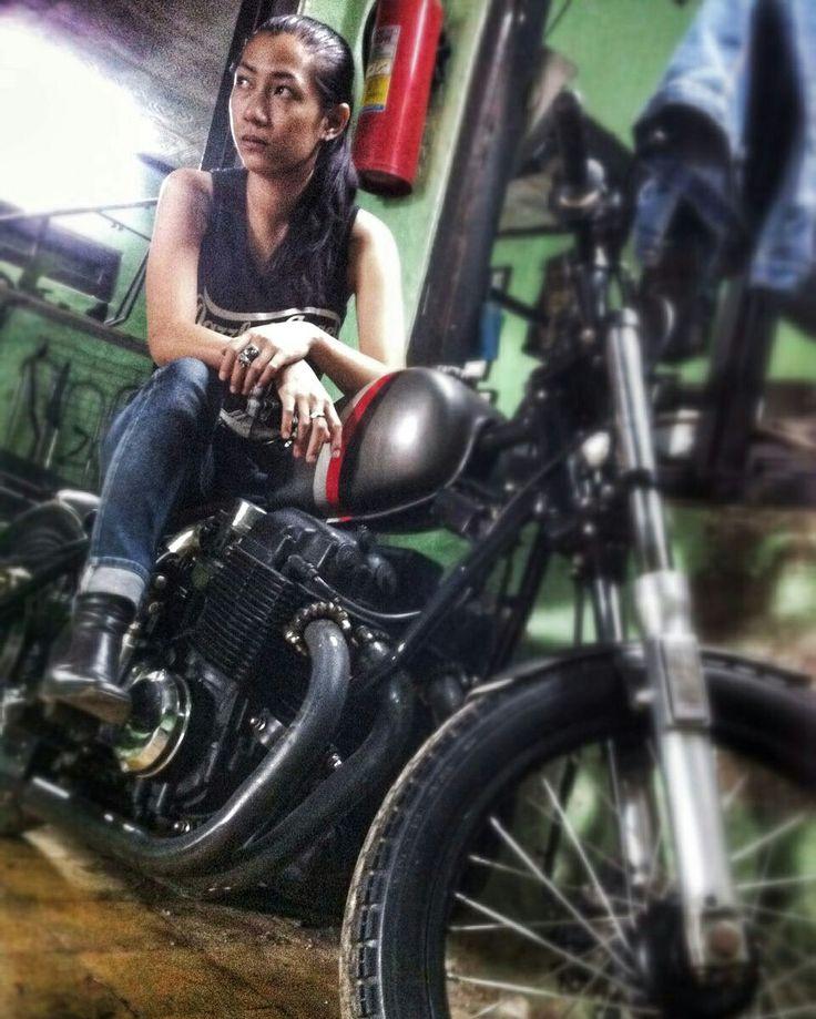 Indonesia bike custom and photograp