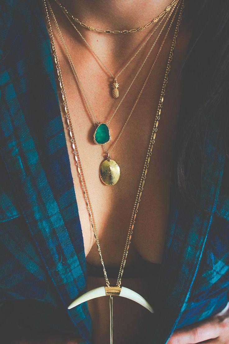 summer layers! #keijewelry