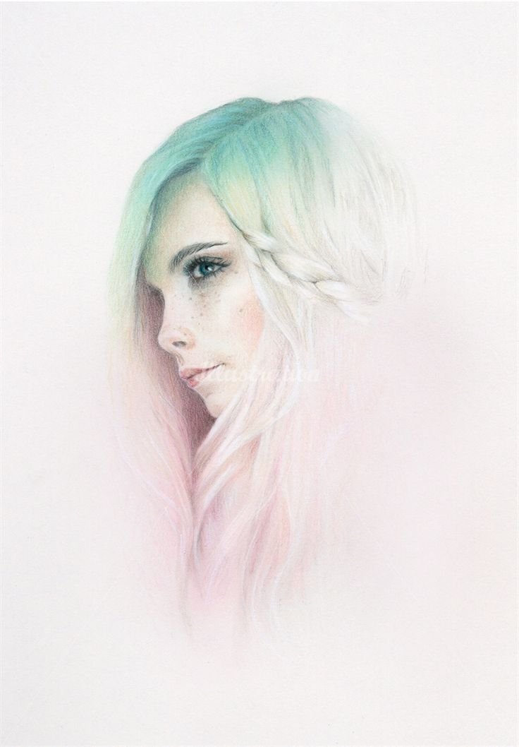 Bec Winnel is a graphic design artist, specialized in feminine portraits