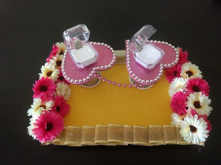 Ring platter #crafts2dio #workshop