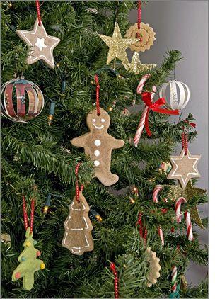 DIY: cinnamon-scented salt dough ornaments