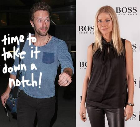 Gwyneth Paltrow's Husband Chris Martin Is NOT A Fan Of Her Health Regime! -                                 So much for Gwyneth Paltrow's belief that her diet and health craziness is actually    IMPROVING - A lot of buzz over Gwyneth Paltrow's gluten