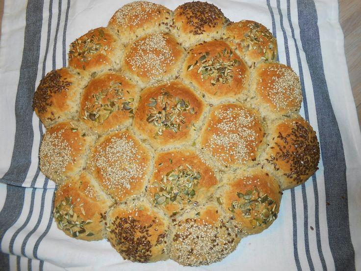 Tante Sød: Brydebrød med squash - til din suppe:-)