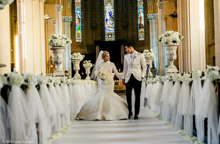 Cheap Wedding Dresses Brooklyn Ny: Real Chic Bride Yainee Alonso Marries Baseball Pro Manny
