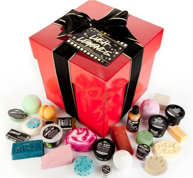 Lush Legends NEW - £100.00 I should buy this for my BFFs, Im-may-alish and Mae . They deserve it (: