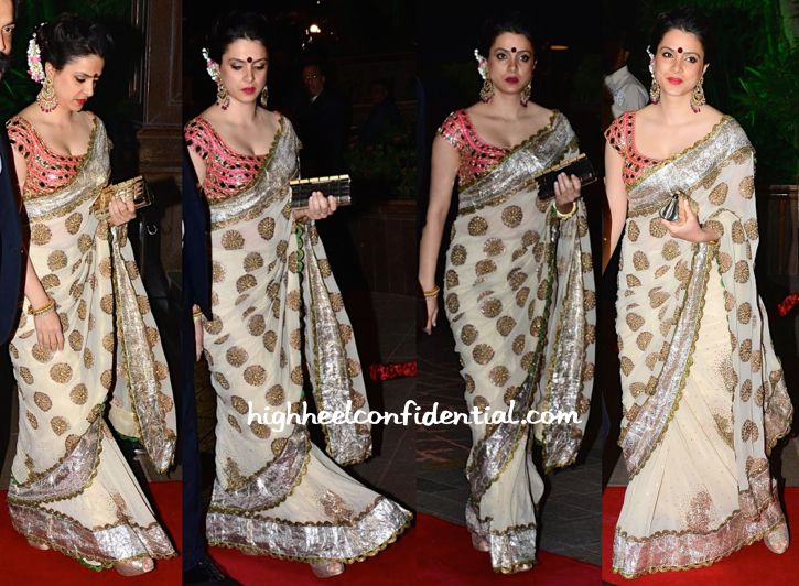 Tanya Deol At Aayush Sharma-Arpita Khan Wedding Reception