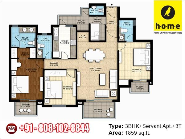 Baya weaver (a BOP Group venture) brings Luxurious 2/3/3.5 BHK Apartments in H.O.M.E. (Home Of Modern Experiences) Located Near-SGPGI, Rae-Bareli Road, Lucknow. Spread across 7.4 acres, H.O.M.E. Lucknow is part of 37 acres of DLF Garden City Township in Lucknow.    Contact Details:  Call @ 808-102-8844 Website: http://www.homelucknow.com