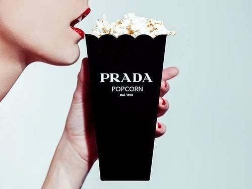 Prada Popcorn is the poshest popcorn.