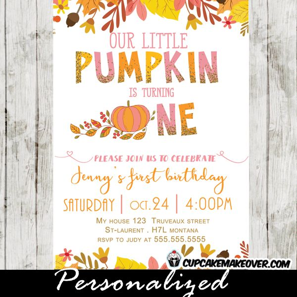 Best 25 Pumpkin first birthday ideas on Pinterest