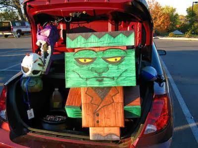 17 Creative Trunk Or Treat Ideas Halloween Pinterest Trunk Or