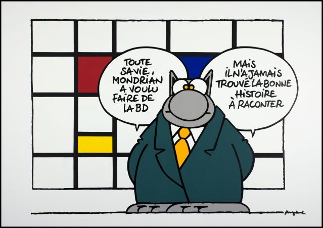 Avec Philippe Geluck, Le Chat s'expose / France Inter