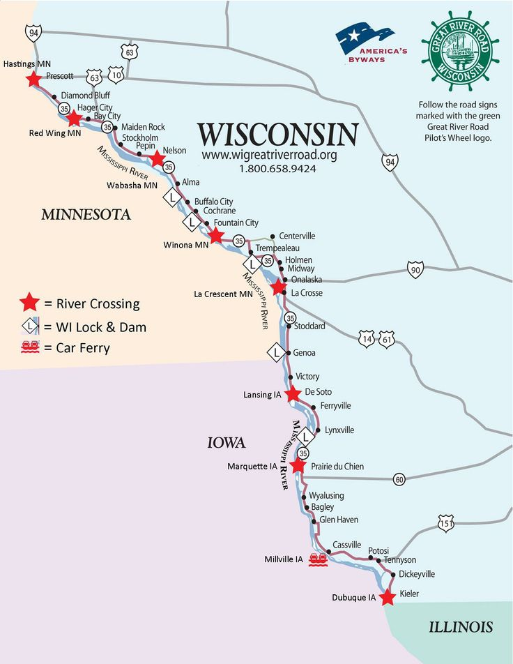 74 Best Visitor Info For The Wisconsin Great River Road