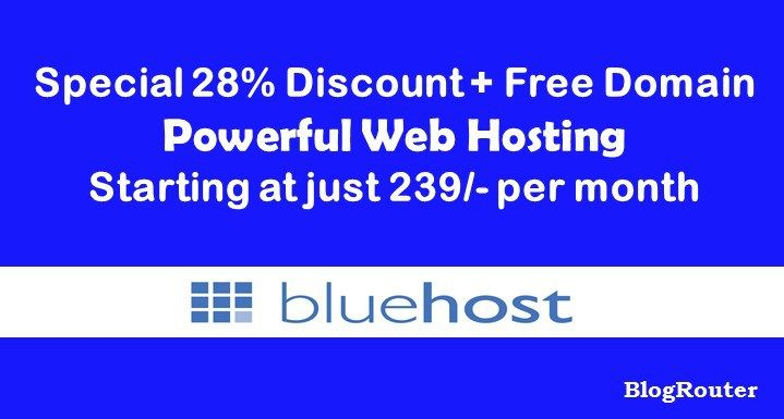 Missed BlackFriday, Christmas and Year End Sales? Don't worry. BlueHost January Coupon is here. Grab your missed opportunity now.
