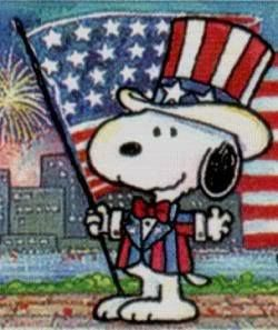 fourth of july snoopy pictures