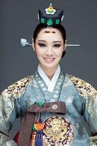Woman in Hanbok