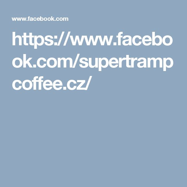 https://www.facebook.com/supertrampcoffee.cz/