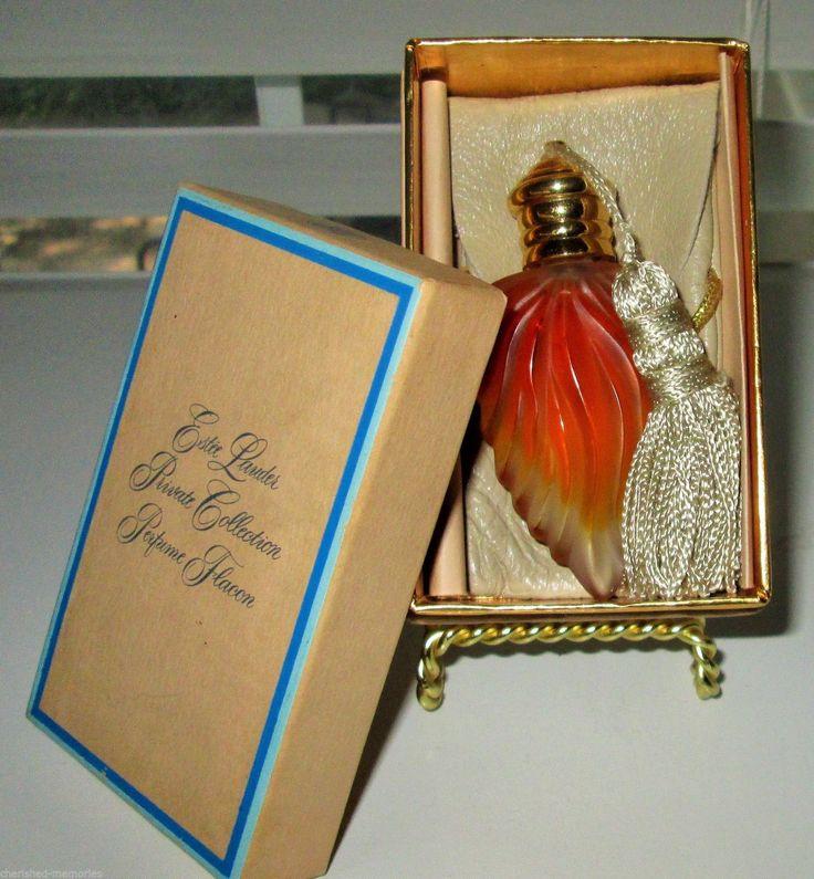 Estee Lauder Private Collection Perfume Flacon 1 4 FL oz Vintage Divine Parfum | eBay