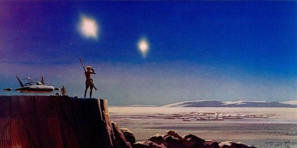 Thank you, Ralph McQuarrie. Your vision and design absolutely impacted and inspired me as a child, and in part, set me on a lifelong course to dream and create.