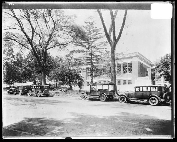 Benjamin Franklin Junior High School under construction | by AOK Library & Gallery, UMBC