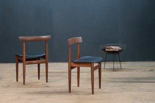 Poul Volther Danish Modern Teak Chairs for Frem Rojle — Maxwell's Daily Find 05.07.14