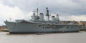 HMS Ark Royal (R07) 1981-2011