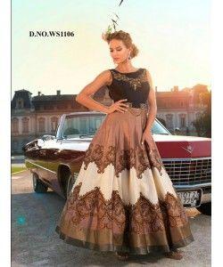 Latest Fancy Designer Gown  http://www.kmozi.com/latest-fancy-designer-gown-888