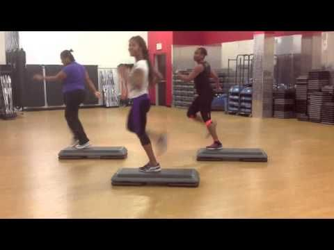 Hip Hop Step Aerobic By: PGR Family Cardio Club - YouTube