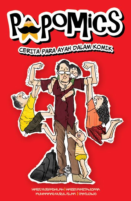 Papomics: cerita para ayah dalam komik.