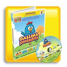 DVD Gallina Pintadita - Vol. 1