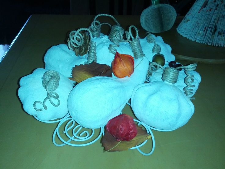 My White Pumpkins by Pat Zardi