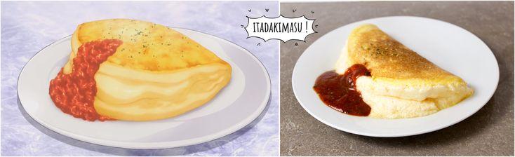 Aujourd'hui, je vous propose de découvrir la recette de l'omelette soufflée de Sôma : un plat très simple en apparence ne nécessitant que peu d'ingrédients mais un bon timing !