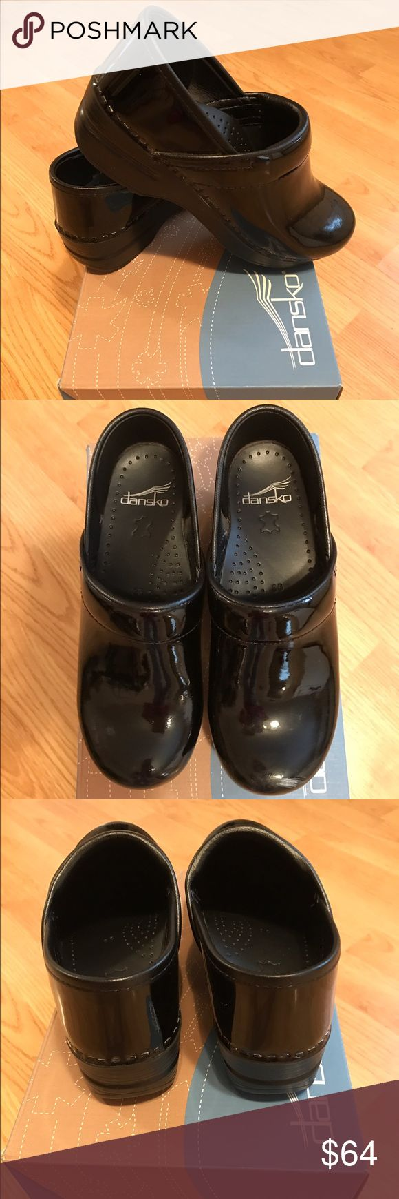 Dansko clogsSALE Black Pattened Leather Clogs, only worn a handful of times.. very nice. Dansko Shoes Mules & Clogs