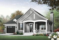 Plan de maison no. W3215 de dessinsdrummond.com
