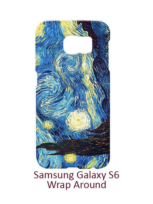 The Starry Night Vincent Van Gogh Samsung Galaxy S6 Case Cover