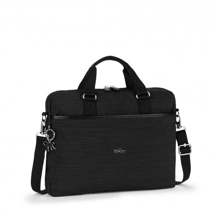 KAITLYN Dazz Black COMPUTER BAGS by Kipling Front
