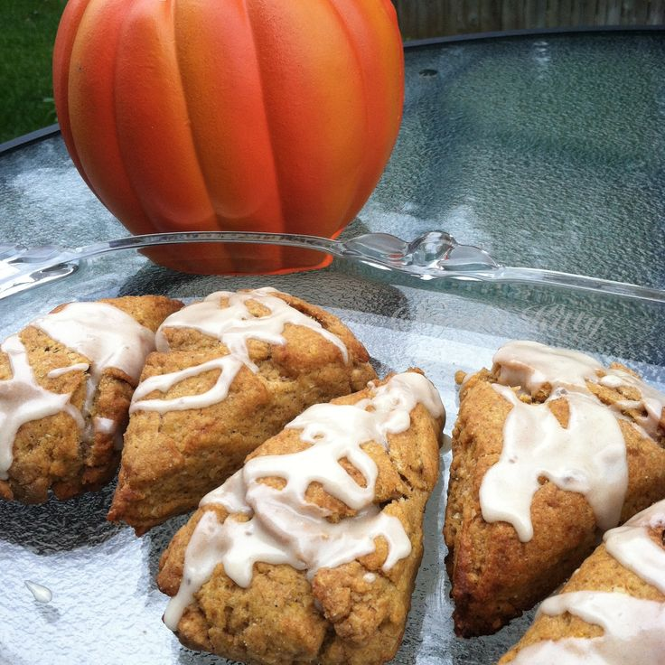 Vegan Pumpkin Scone Recipe and Photo Free