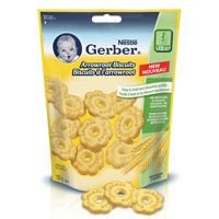 Get $1.00 off new Nestlé Gerber Arrowroot Biscuits!