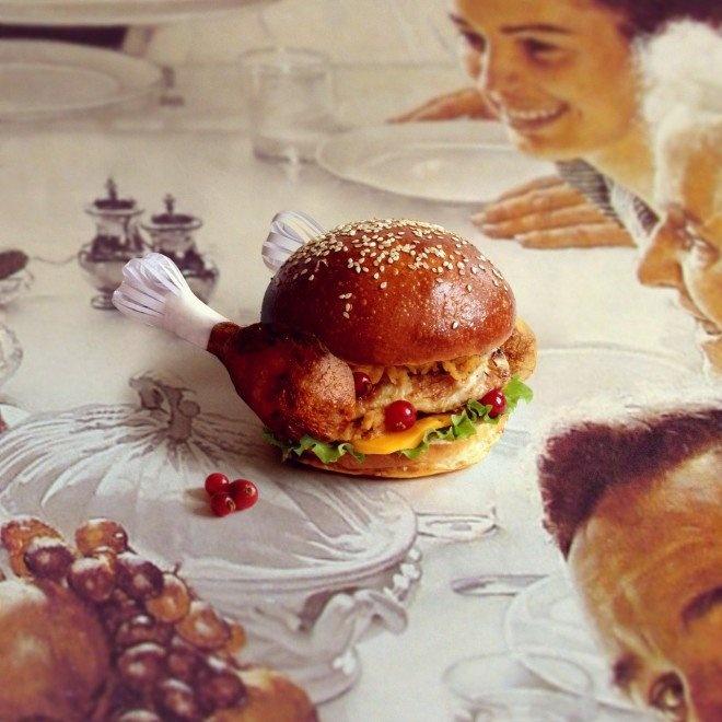 Des hamburgers gastronomiques étranges fat furious burger etrange 02 660x660 fun 3 divers bonus