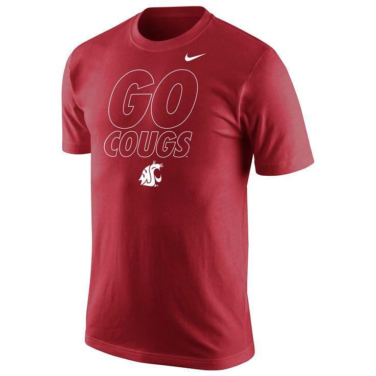 Washington State Cougars Nike Local Verbiage T-Shirt – Crimson - $20.79