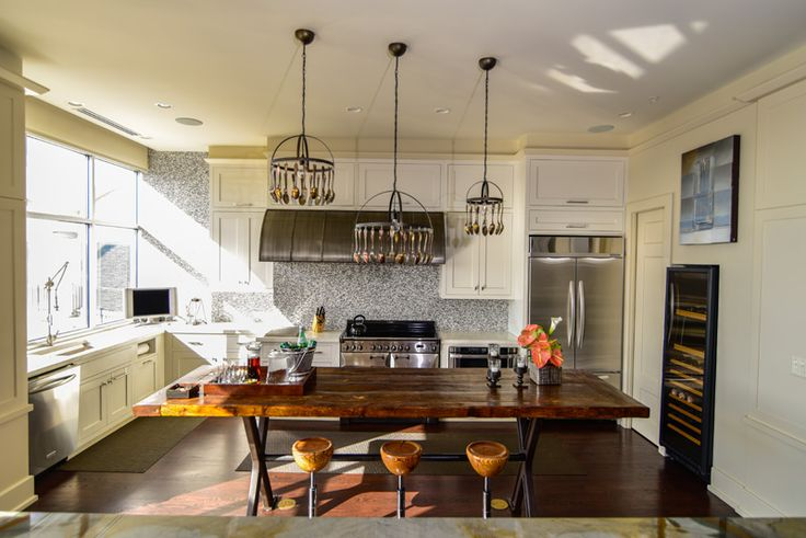 Spoons on the chandeliers!!  Traditional + transitional by LandyGardner - desire to inspire - desiretoinspire.net