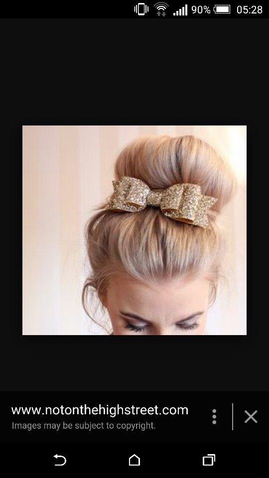 Flowergirls hair