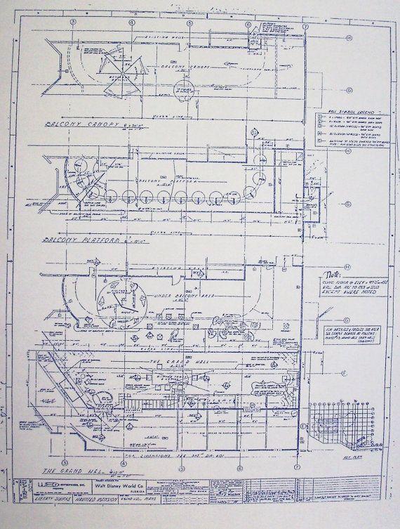 17 Best Images About Disney Blueprints Layouts Art