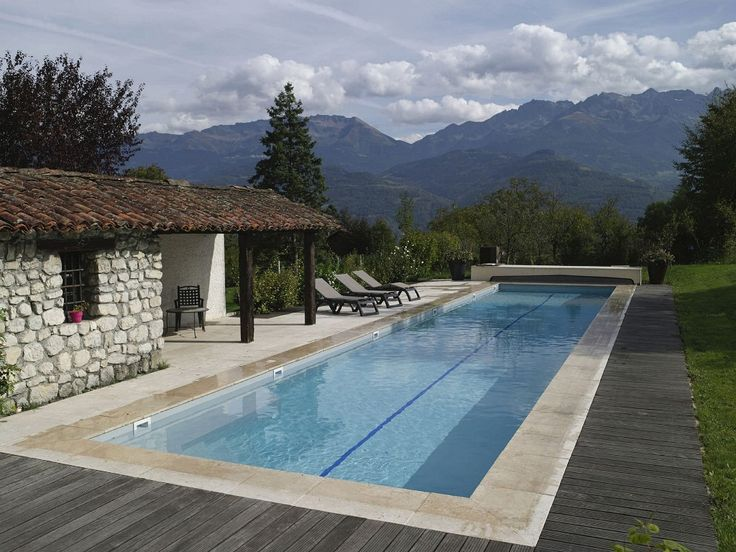 Exterior: Charming Above Ground Lap Pool With Photo Of Awesome Home Lap  Pool Design From