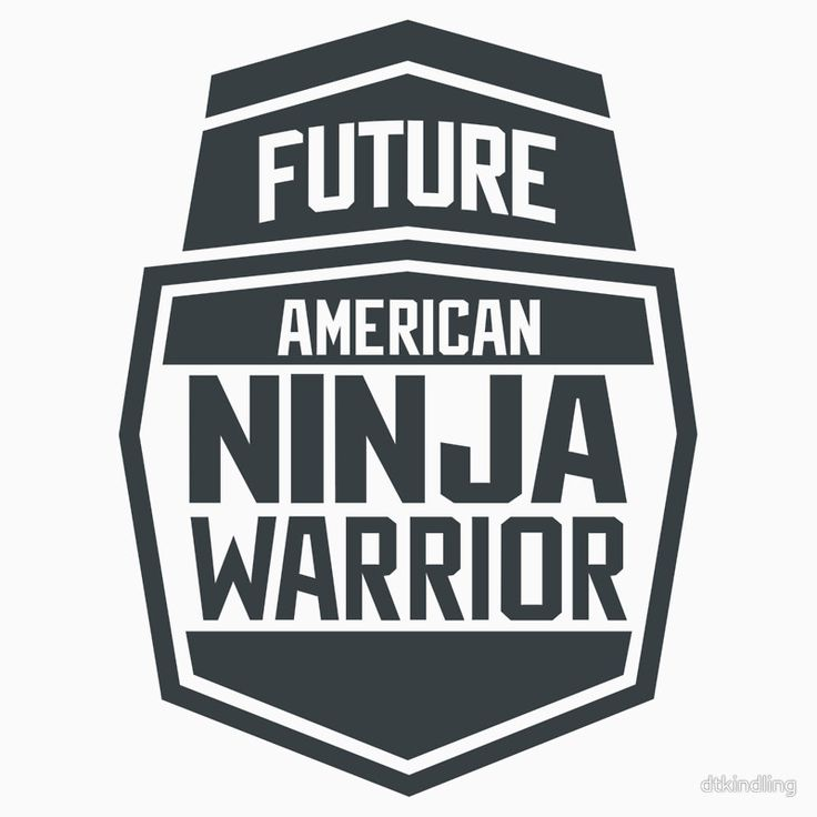 """Future American Ninja Warrior"" Kids Clothes by dtkindling 