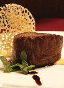 Filetto di manzo con fonduta al Parmigiano-Reggiano