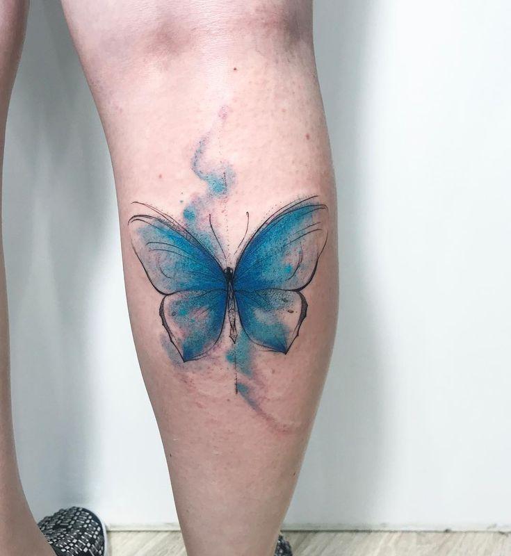Mais de 100 mulheres na tatuagem que você precisa conhecer! | Tatuagem de borboleta, Tatuagem, Tatuagem de borboleta aquarela