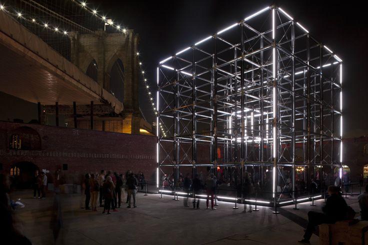 Origin installation - United visual artists